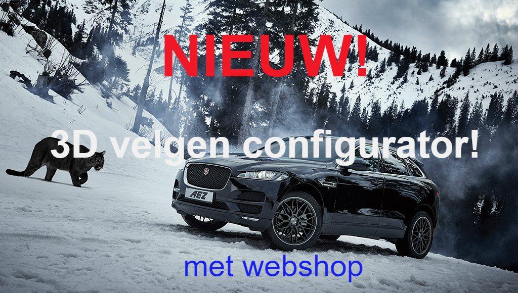 3D Velgen configurator