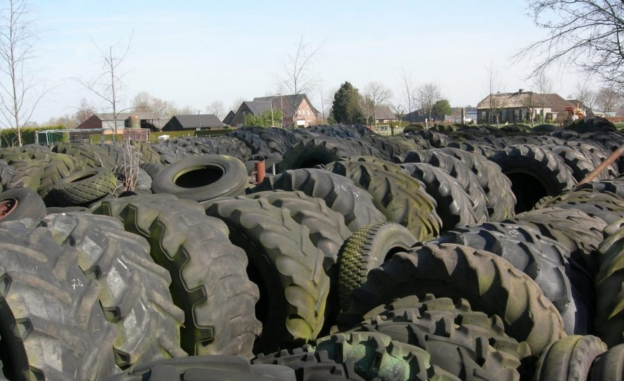 Gebruikte landbouwbanden van Van Essen