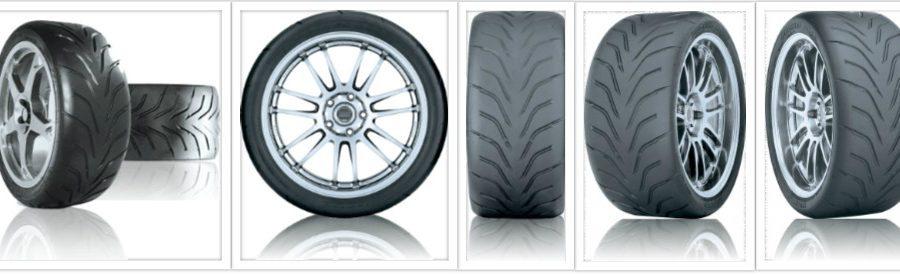 Toyo R888 motorsportbanden collage