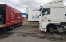 Van Essen verleend pechservice aan een truck van Remkes