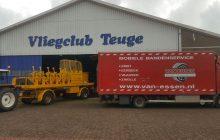 Op vliegveld Teuge verleent Van Essen 24-uurs banden pechservice